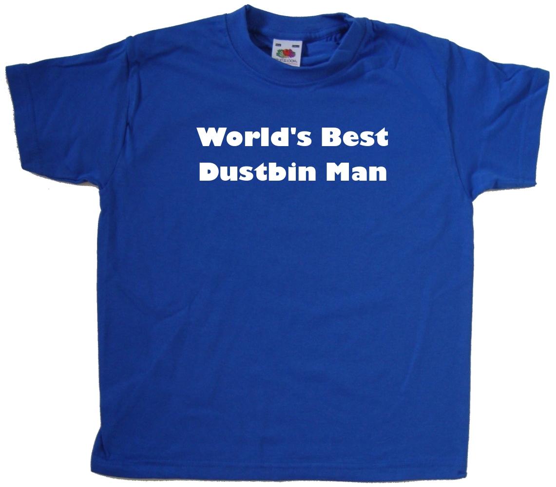 World/'s Best cubo de basura hombre Kids Camiseta
