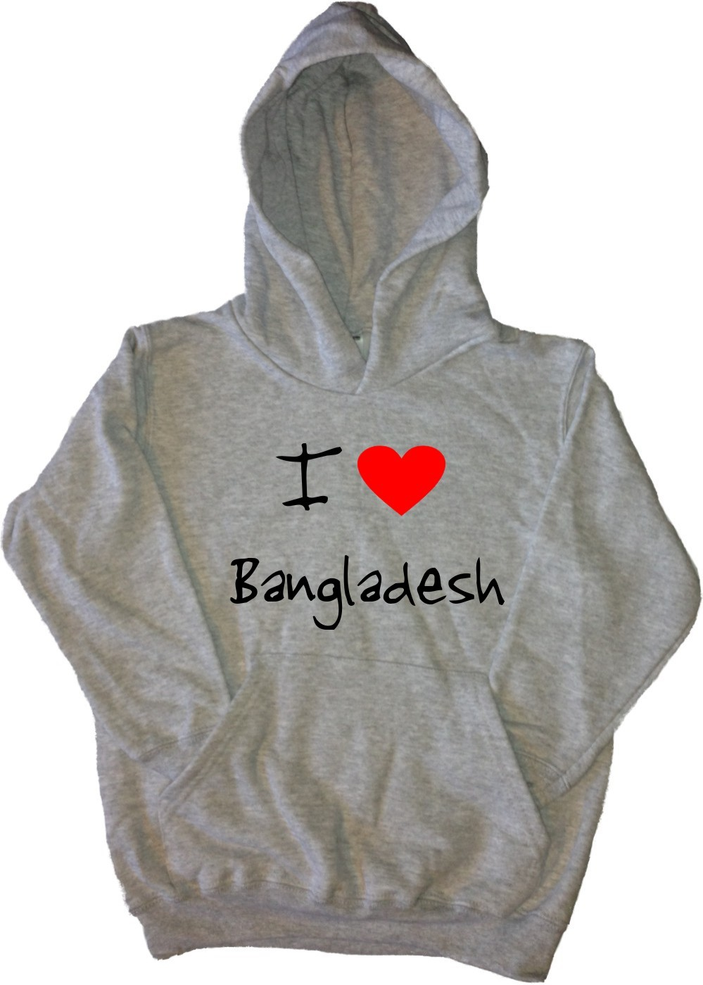 I-Love-Cuore-Bangladesh-Kids-Felpa