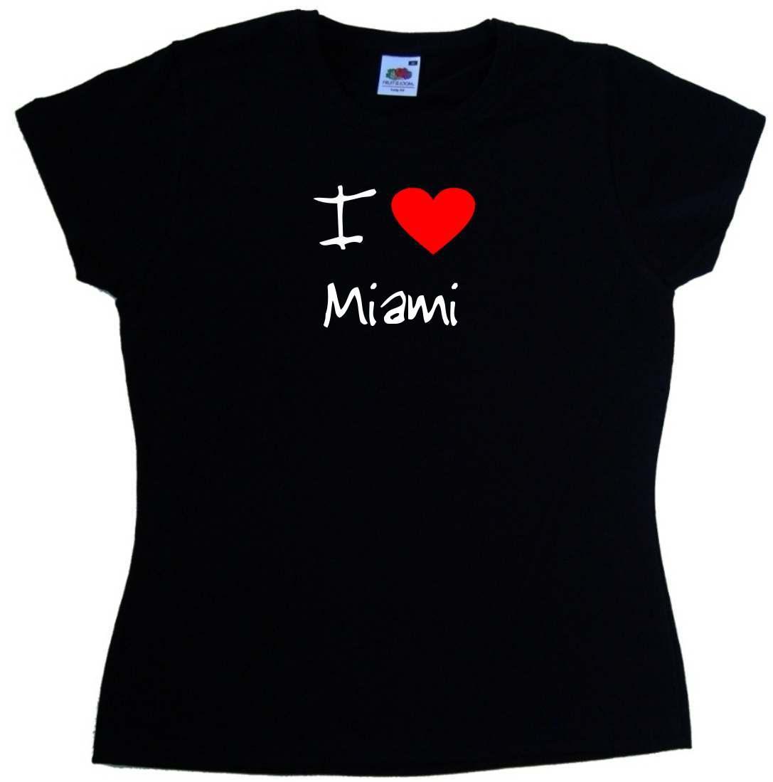I-Love-Heart-Miami-Ladies-T-Shirt
