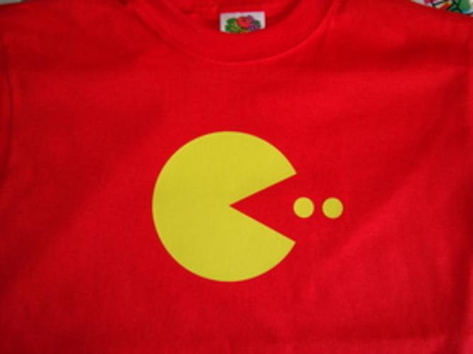 Pacman-Retro-Kids-T-Shirt