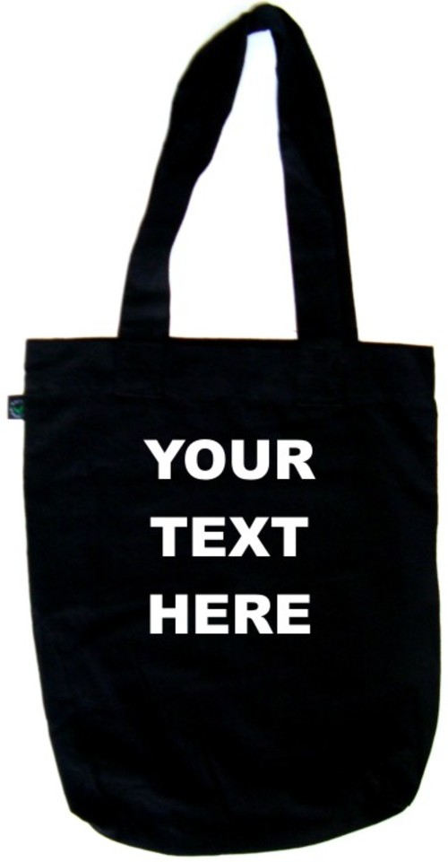 Your Text Here Design Your Own Tote Bag Ebay