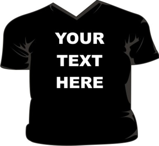Your text here design your own v neck t shirt ebay for Design your own t shirt and buy it