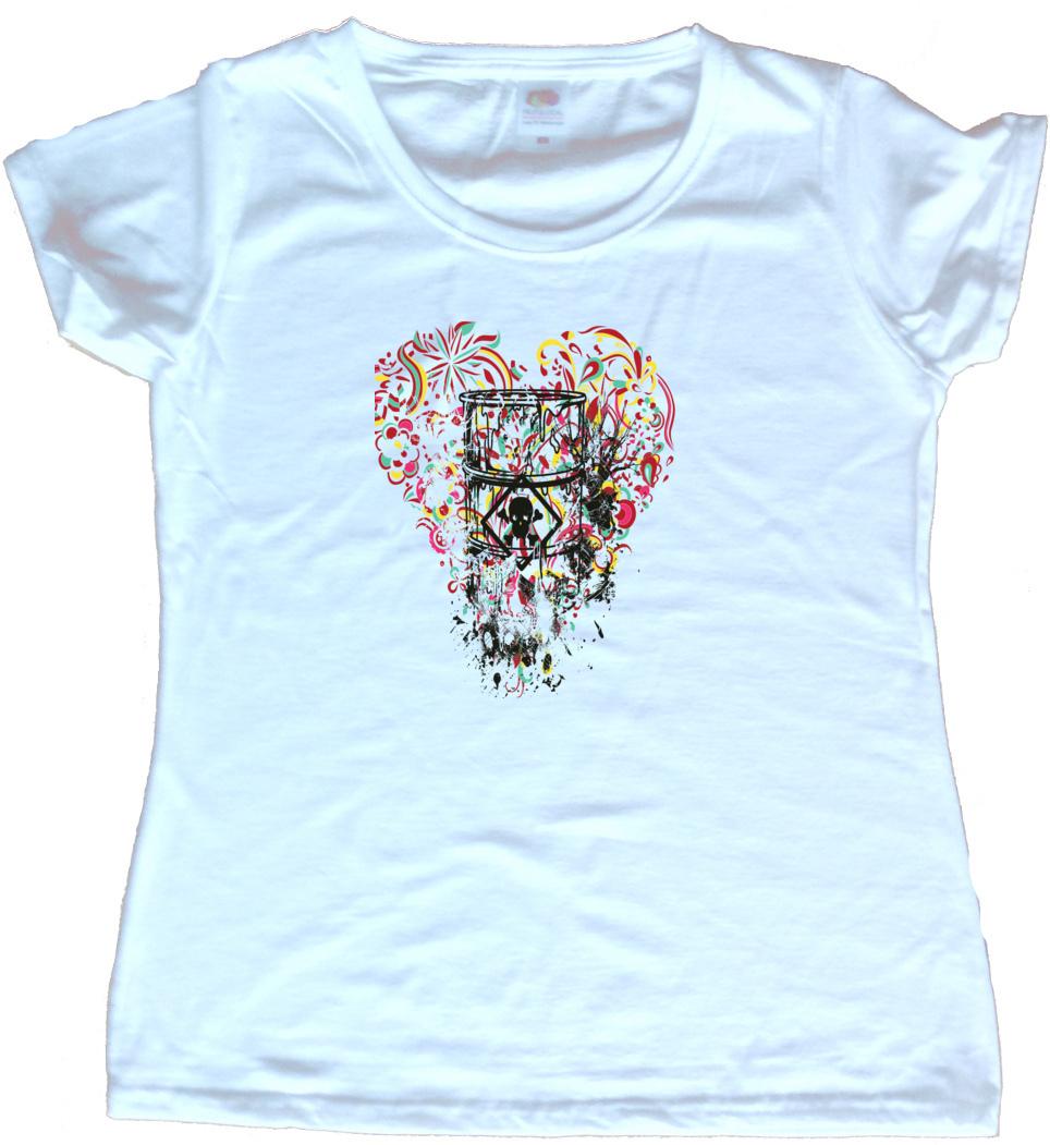 Toxic Heart Graphic Ladies T Shirt Ebay