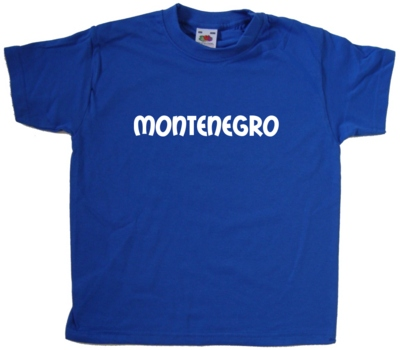Montenegro-text-Kids-T-Shirt